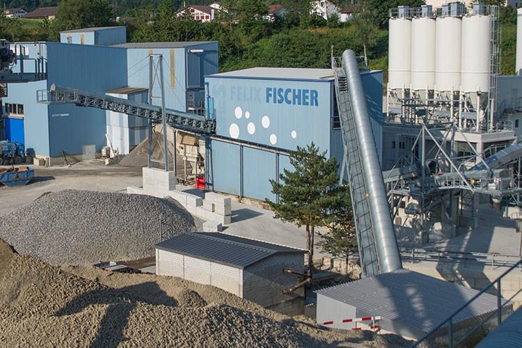 Fischer Kies, Staffelbach, Werkbeschickung