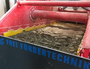 IFF AG Kies & Beton, Niederbipp, Rundseite, Entwässerungssieb